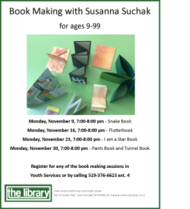 Book Making Poster